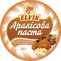 Арахісова паста з різними смаками 280 г ТМ Elvin
