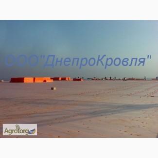 Реконструкция мягкой кровли ПВХ мембраной в Петриковке