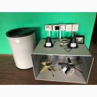 Монтаж систем вентиляції та мікроклімату в свинофермах