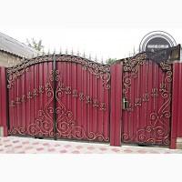 Ворота и заборы кованые и сварные в Кривом Роге и области