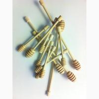 Деревянная ложка для меда (палочка для меда) из бука карпатского