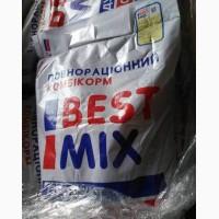Best mix откормочный комбикорм для бройлера, мешок 25кг