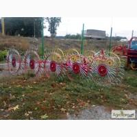Грабли-ворушилка Солнышко на 5 колёс PZ-205, Киевская обл