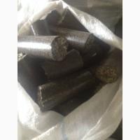 Продам топливные брикеты пелеты из лузги подсолнечника