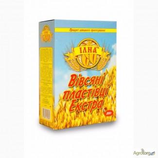 Хлопья Овсяные Экстра 0, 8 картон/коробка