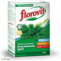 Удобрение для хвойных осеннее - Флоровит