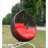 Кресло кокон. Стильная и популярная садовая качель