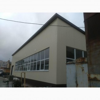 Строительство складских помещений, Строительство складов и ангаров
