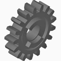 Шестерня на сеялку СЗ-3, 6 СЗГ 00.121(Z17)