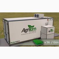 Автоматические гидропонные системы для производства зеленого корма