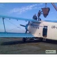 Авиа подкормка озимой пшеницы и озимого рапса вертолетом и кукурузником
