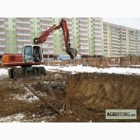Земляные работы Киев. Копка котлованов Киев