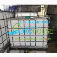 Емкость пластиковая тара бочки для воды б/у 1000 л