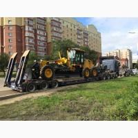 Доставка катка перевозка асвальтоукладчика транспортировка экскаватора бульдозера Харьков