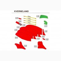 Kverneland Подшипник Kverneland Ремень Kverneland запчасти