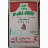 Монофосфат калия (монокалий) 0-52-34, multi-MKP 25кг