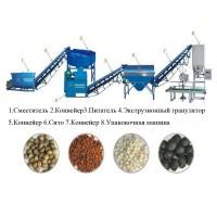 Оборудование для переработки и гранулирования помета, навоза, сапропеля и пищевых отходов