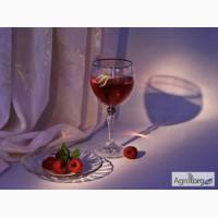 Купить вино малиновое домашнее 100% натуральное