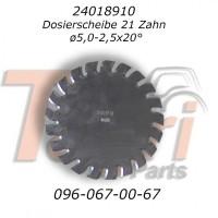 24018910 Диск 5, 0 мм з фаскою Horsch