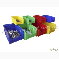Складские ящики для хранения метизов