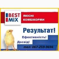 Комбікорм (комбикорм) повнораціонний BEST MIX