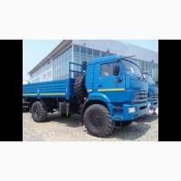 Новый грузовой автомобиль КАМАЗ-43502-6024-66 полный привод 4х4