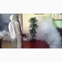 Знищення шкідливих комах (клопів, тарганів, мурах, бліх, комарів тощо) холодним туманом