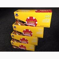 Сигаретные гильзы для забивки табака Сasino Tubes 500- шт