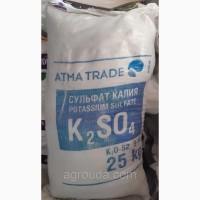 Сульфат калия, 25 кг K2O-50-52%. S-18%, 650 грн