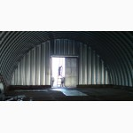 Бескаркасные ангары, склады, перекрытия арочного типа