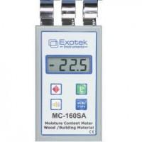 Профессиональный влагомер древесины и стройматериалов EXOTEK MC-160SA