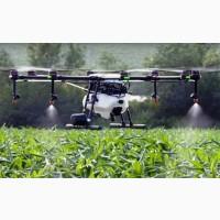 Услуги дрона беспилотника мультикоптера в сельском хозяйстве
