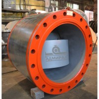Клапан обратный дисковый с резиновым уплотнением Ду 300-1200