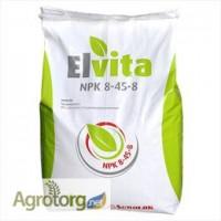 Добриво Elvita NPK 8-45-8 + mikro