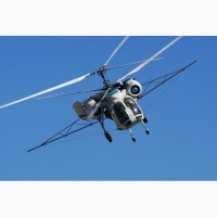 Десикация подсолнечника вертолётом