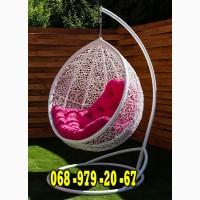 Кресло-кокон подвесное плетёное Веста из ротанга. Качеля с 50% скидкой на доставку