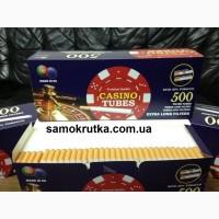 Сигаретные гильзы CASINO TUBES EXTRA LONG 500 шт