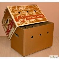 Ящик телескоп, крышка-дно, ящик для овощей, тара для фруктов