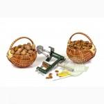 Комплект для максимального выхода целого ядра грецкого ореха.Бабочка- сталь