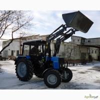 Фронтальний навантажувач на трактор METAL-FACH (джойстик) /