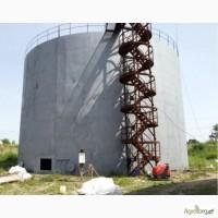 Избавление от донных отложений в резервуарах стальных вертикальных тип РВС 400-10 000куб