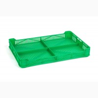 Ящик пластиковый 400х265х54, 2 кг, (1 сорт)