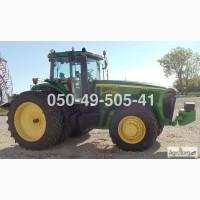 3777 мч powershift трактор Джон Дир John Deere 8420 (MFWD) из США купить б/у