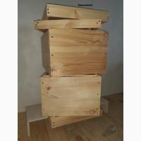 Вулики улья для пчел вертикальные 1-2-3 корпуса