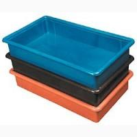 Ящик пластиковый цельный на 15 литров