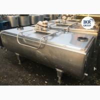 Танк охладитель молока Б/У Packo 1200 ванна объёмом 1200 литров