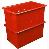 Ящик пластиковый цельный на 38 литров