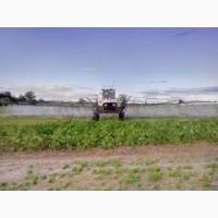 Оприскування полів (внесення засобів захисту рослин та добрив)