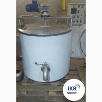Пастеризатор молока з нержавейки 500 литров Украина