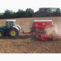 Услуги посева сои кукурузы подсолнечника рапса зерновых пшеницы буряка ячменя Сумы
